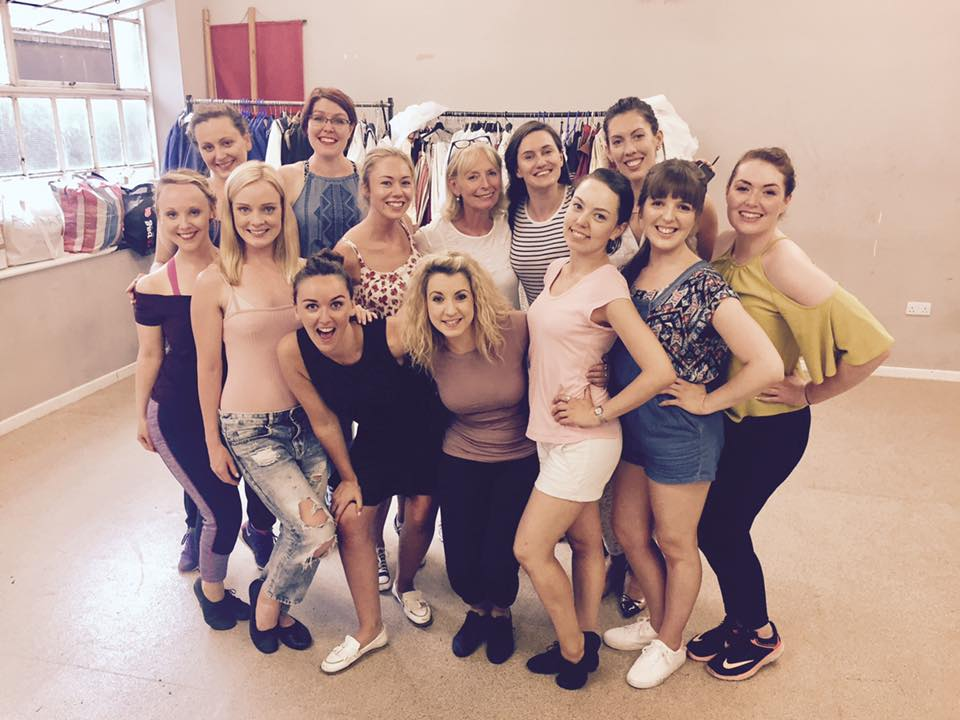 NGSOC 2017 Rehearsals with Choreographer: Mary MacDonagh